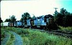 DH 7416 leads NE84 thru Belmont. Jct